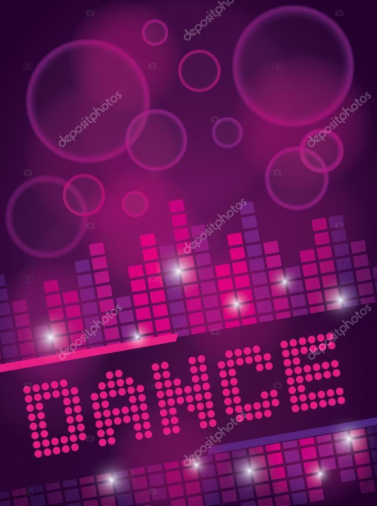 Nightclub Dance Background Design