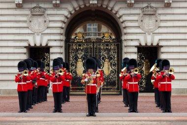 A Royal Guard at Buckingham Palace