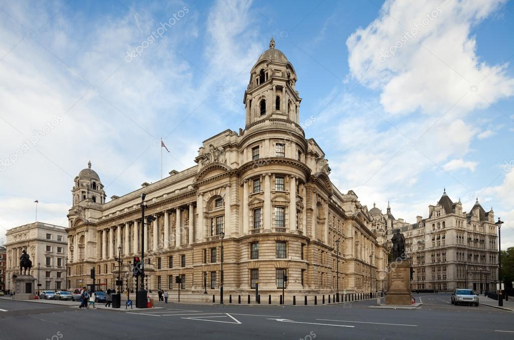 Old war office building whitehall london uk stock for Building londre
