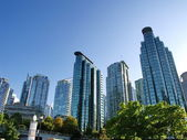Photo Towers of Vancouver BC, Canada