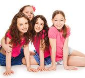 Fotografia ragazze partito unico