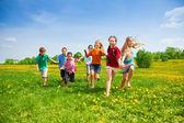 Fotografia bambini corse