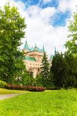 Fotografie zahrada zámku bojnice