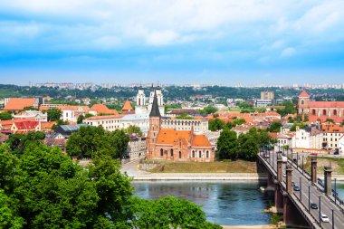 Kaunas town panorama