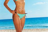 Fotografie Woman on beach