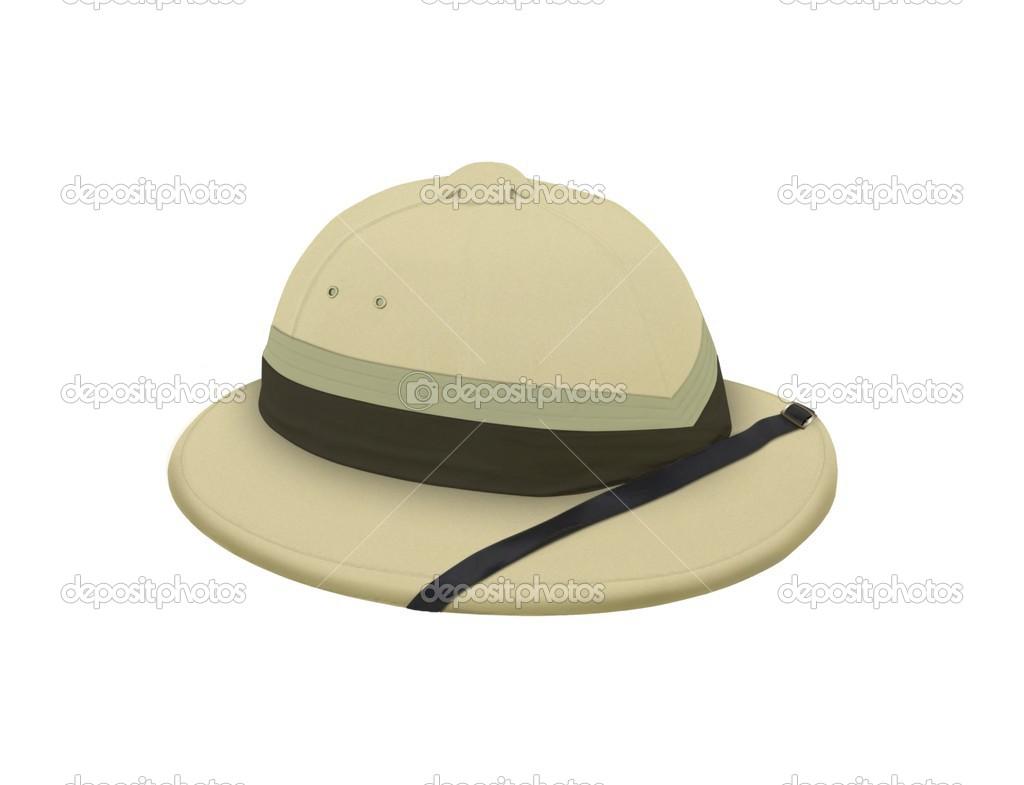 sombrero explorador sobre blanco — Fotos de Stock © razihusin  27412105 a7a420d8c84