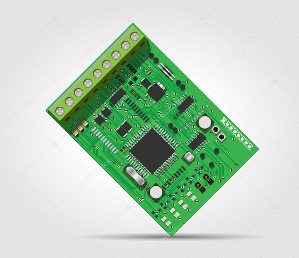 Integrated Circuit Stock Vector Kosecki 45453491 An