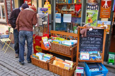 A Childrens Book Shop in Erfurt.Germany