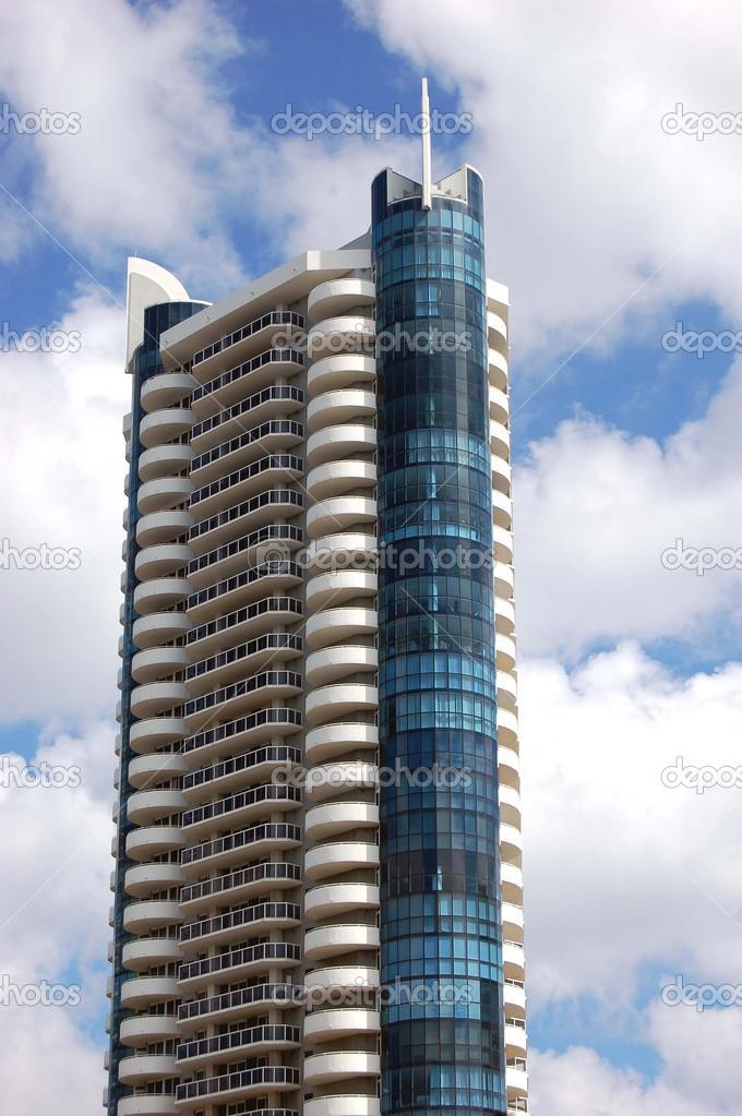 Dise o de edificios modernos de miami beach fotos de for Diseno de edificios