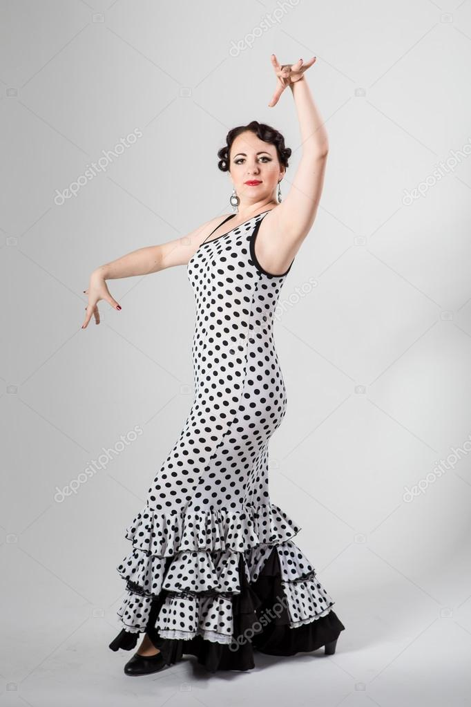 Danseuse De Flamenco Espagnole Femelle Photographie Alkiona25