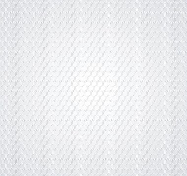 White honeycomb background