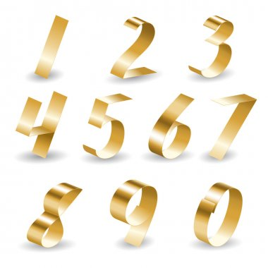 Ribbon number set