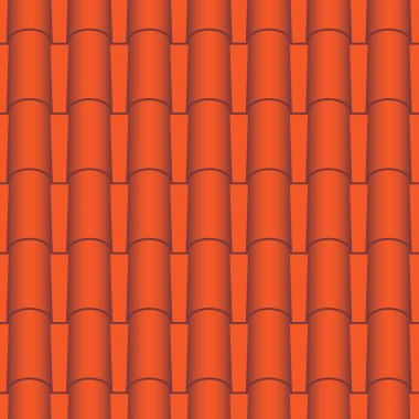 Roof tile seamless