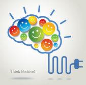 pozitivní myšlení. úspěch