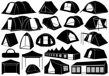 Set of tents