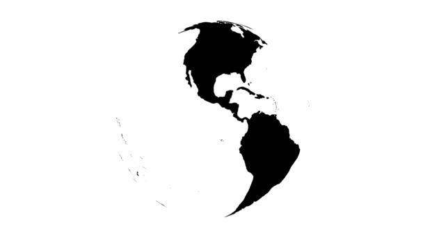 země země černé a bílé