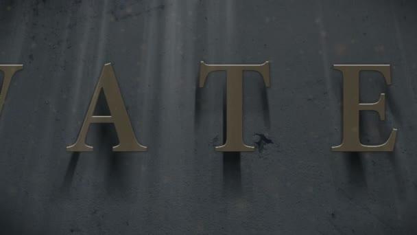 Water logo, name slogan