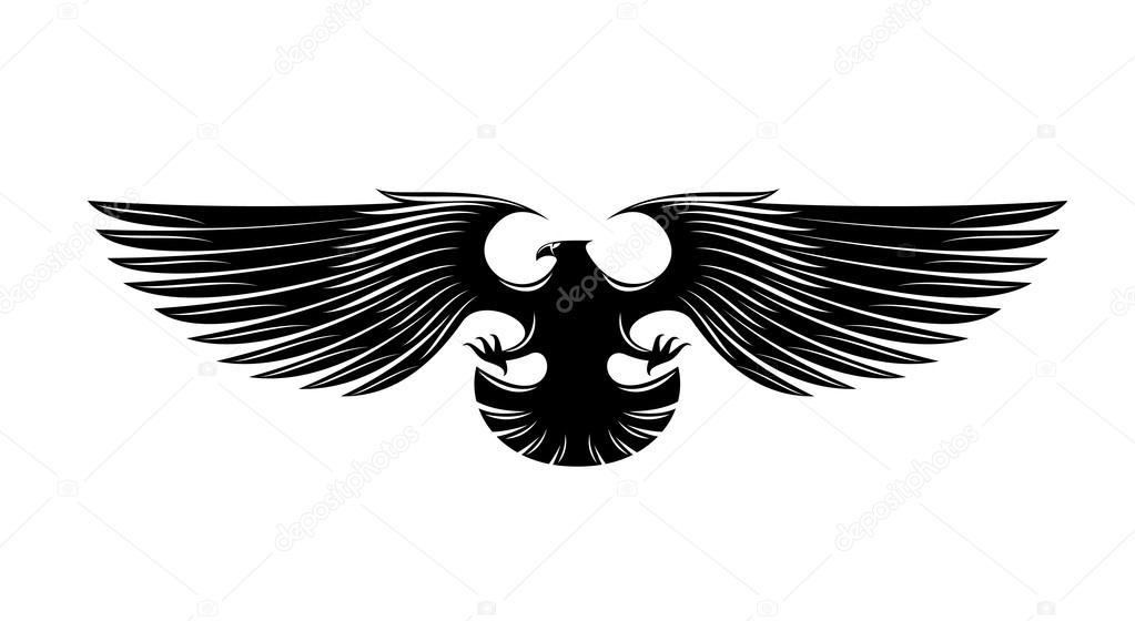 3806c7f3f Heraldry eagle symbol, such a logo. — Stock Vector © Seamartini ...