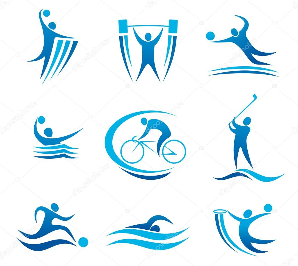 Sport symbols and pictograms stock vector seamartini 29729367 sport symbols and pictograms stock vector biocorpaavc