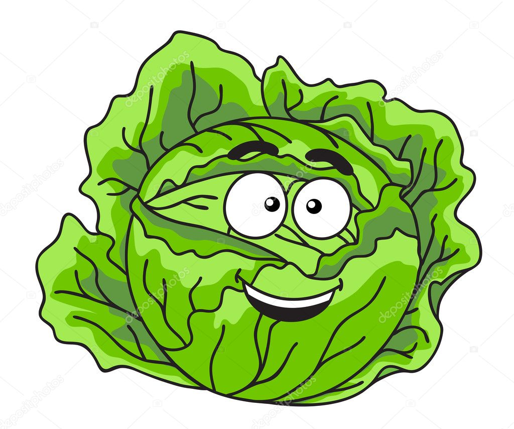 Смешные рисунки капусты, про