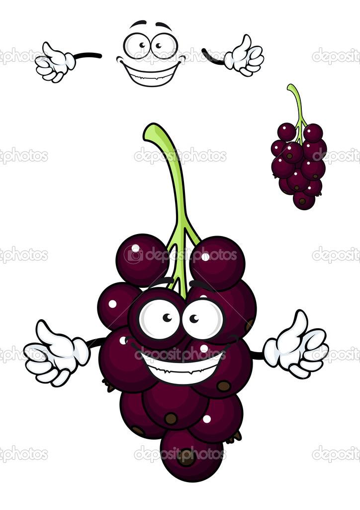 Cartoon Bunch Of Currant Berries Stock Vector C Seamartini 44999879