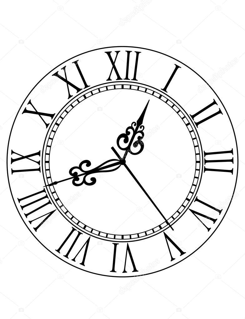 Красивые символы для циферблата часов