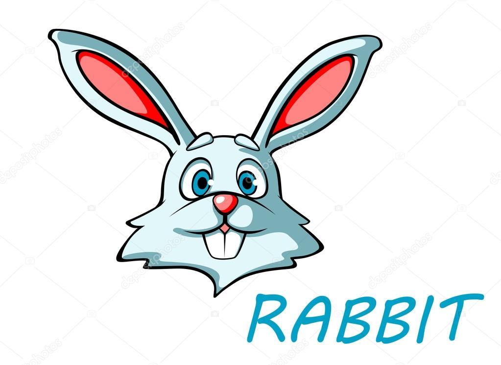 lustige cartoon kaninchen oder hasen stockvektor seamartini 48432689. Black Bedroom Furniture Sets. Home Design Ideas