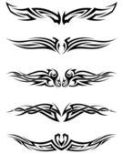 Fotografia impostare i tatuaggi tribali
