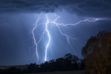 Lightening Storm in Australia