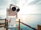 Megfigyelési pult. Manarola, Olaszország