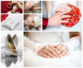Fotografie Wedding collage