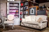 luxusní vinobraní interiér obývacího pokoje
