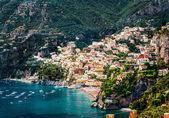 Csodálatos Amalfi-partra. Positano, Olaszország