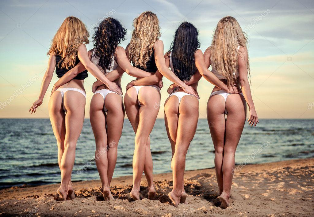 438e1f9fc8d9 Fotos: chicas de espaldas   espalda sexy de cinco hermosas mujeres ...