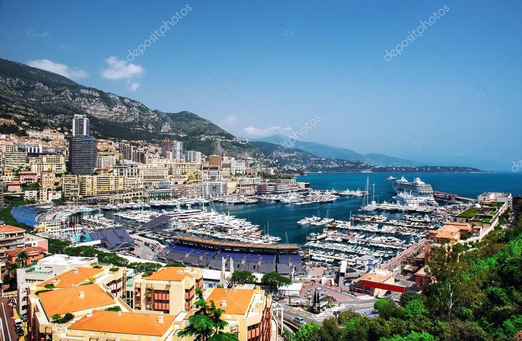 Paesaggio urbano e porto di montecarlo principato di for Porto montecarlo