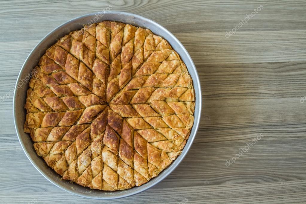 Turkische Pistazien Kuchen Dessert Baklava Stockfoto C Hskoken