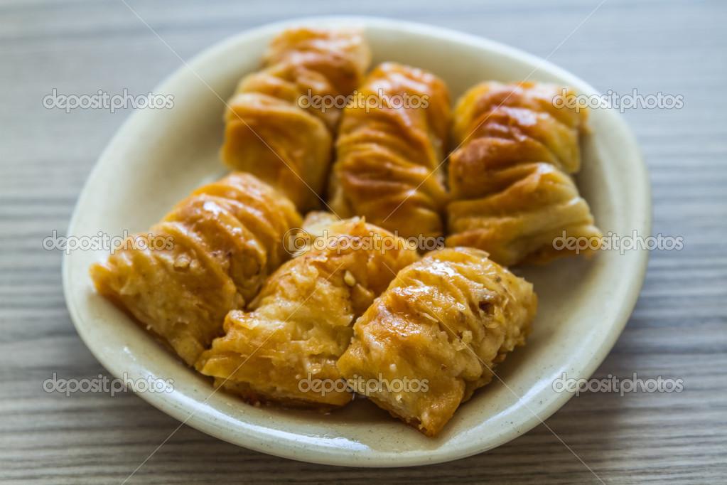 Turkische Pistazien Kuchen Dessert Stockfoto C Hskoken 50520293