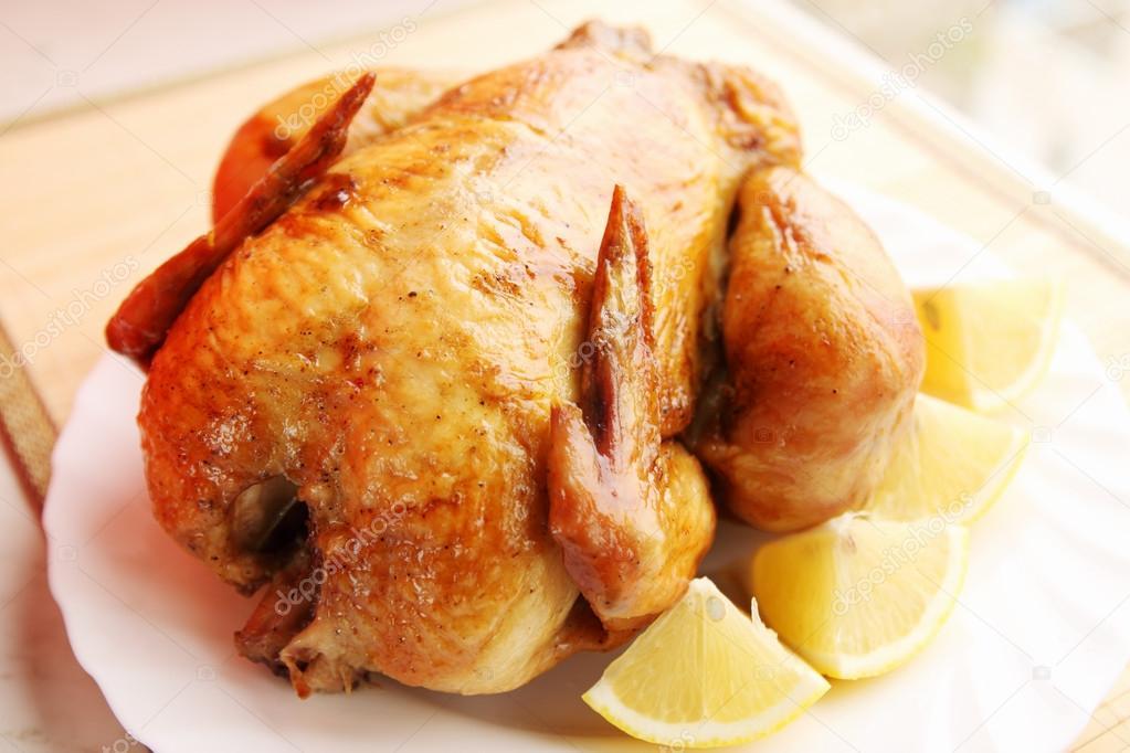 Chicken with lemon