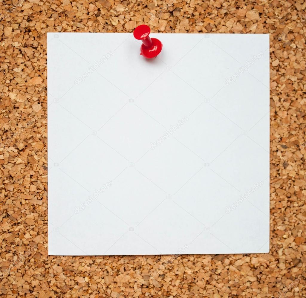 Blank Memos | Leere Memo Papier Auf Kork Board Stockfoto C Alexis84 18081297