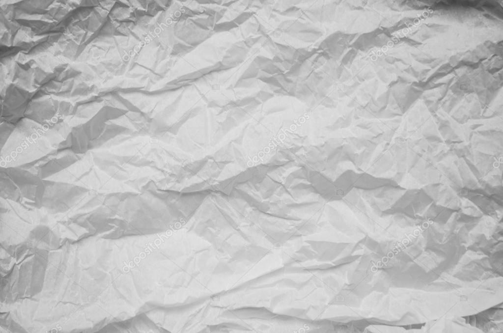 Textura De Fondo Blanco Papel Arrugado