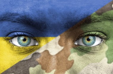 Soldier from Ukraine