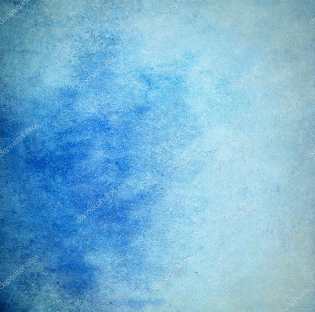 Blue Gradient Painting