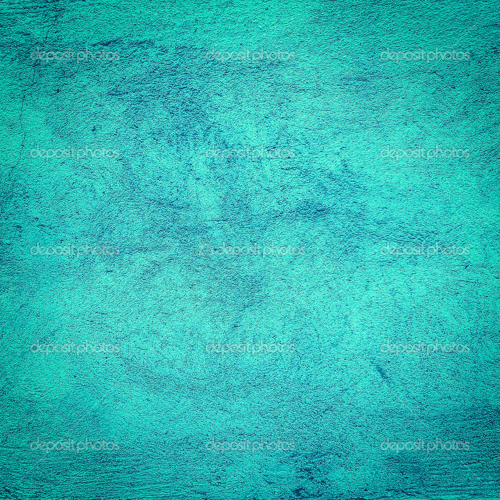 The Texture Of Teal And Turquoise: Turquoise Grunge Background Or Texture