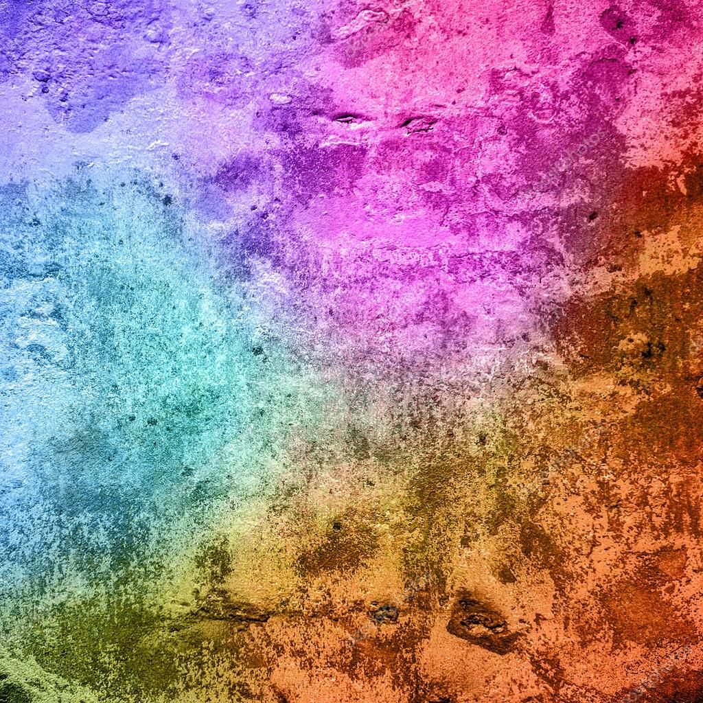 multicolored grunge paint wall background or texture u2014 stock photo