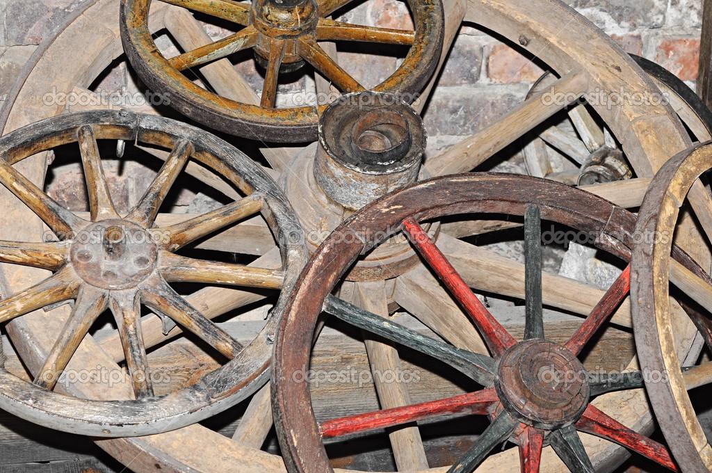 Antique Wagon Wheel Stock Photo Inxti74 24282391
