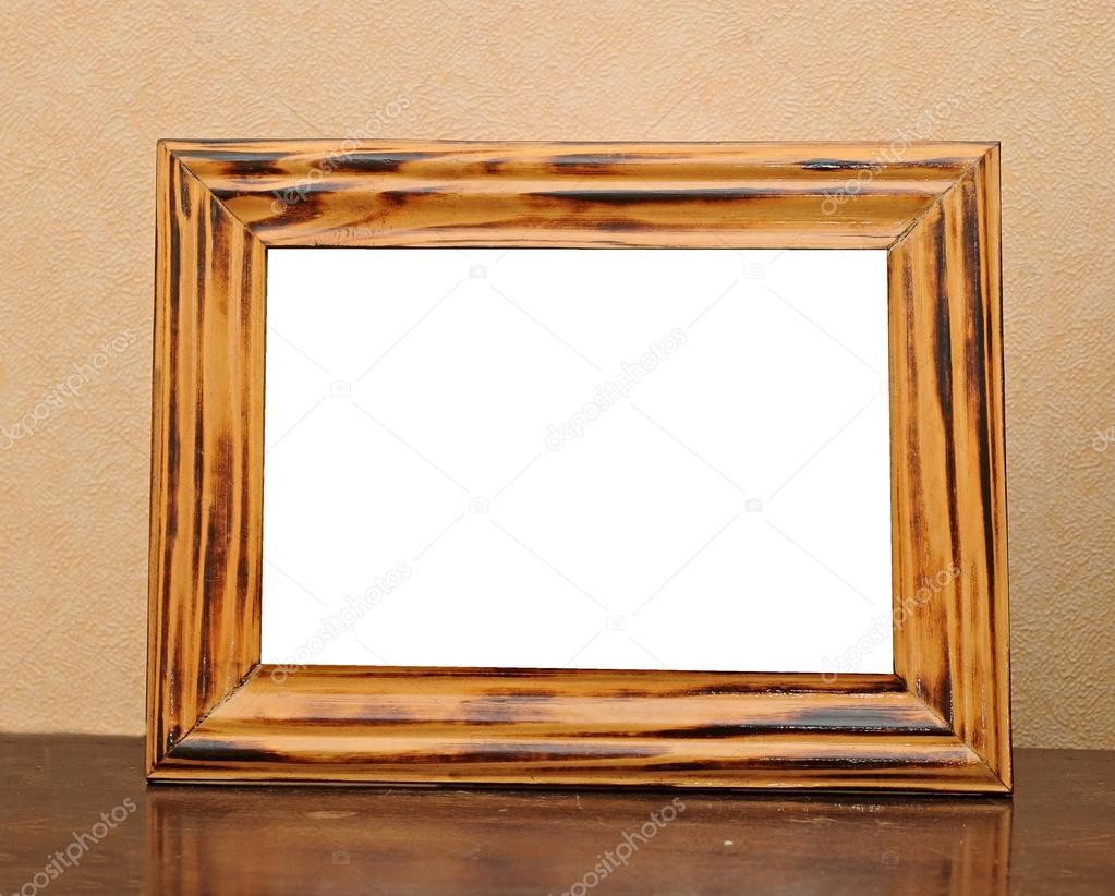 Bilderrahmen auf dem Tisch — Stockfoto © inxti74 #24283173