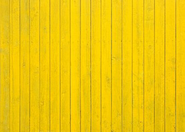 vintage yellow wooden background