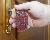 klíče a dveře