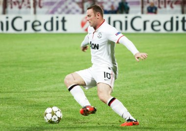 Rooney of Manchester United