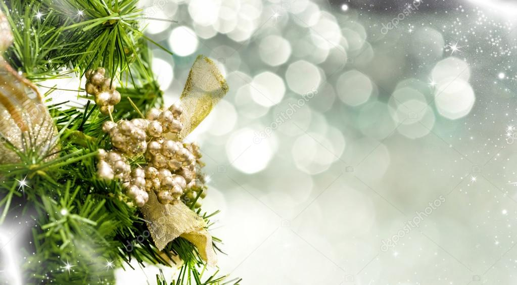 Close up on Christmas tree decoration